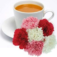 CARNATIONS & WHITE TEA Candle Soap Making Fragrance Oil