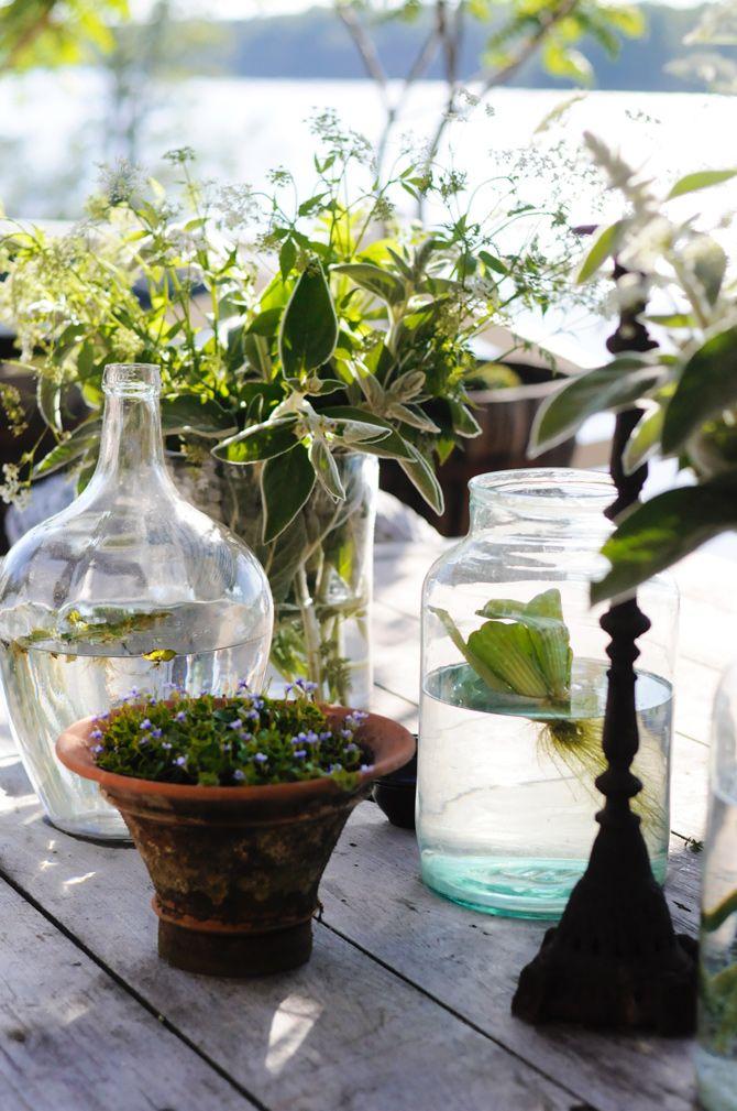 fina stora vaser