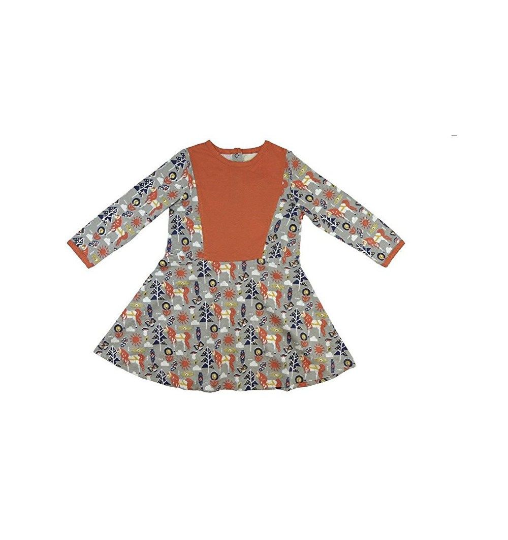 Aztec Sectioned Dress