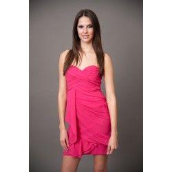 RESTOCK: Rule Breaker Dress-Hot Pink - $65.00