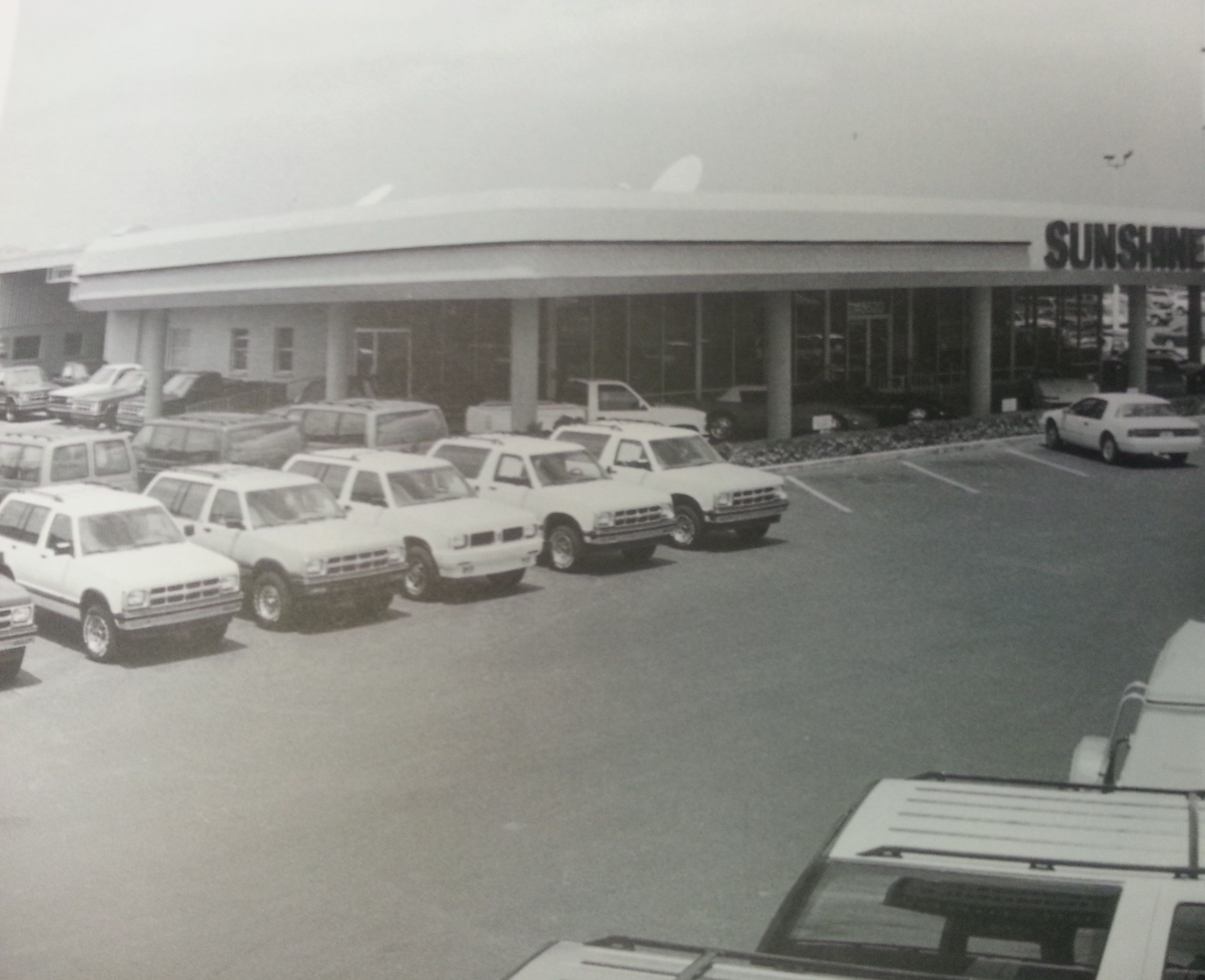 Our Dealership Was Called Sunshine Chevrolet When It Was Aquired By Ferman In 1988 We Kept The Name For Awhil Chevrolet Dealership Dealership Car Dealership
