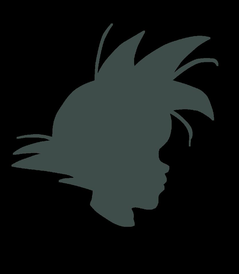 Goku Silhouette By Hoothemangaka On Deviantart Silhouette Goku Human Silhouette