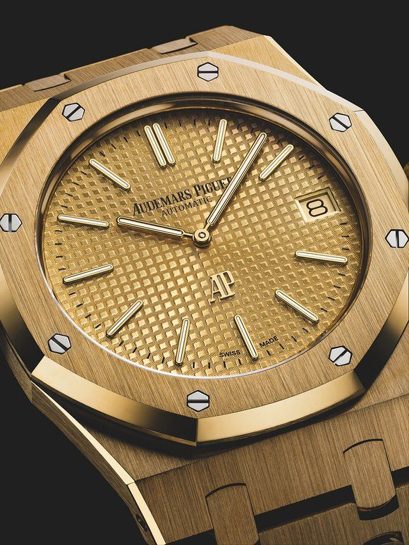 Introducing The Audemars Piguet Royal Oak Ultra Thin Ref 15202 8216 Jumbo 8217 Now In Yellow Gold 腕時計 おしゃれ 腕時計 ルイヴィトン