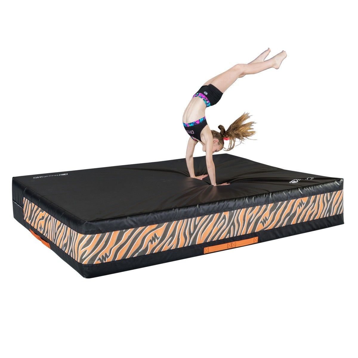 Need A Softer Landing Surface For Your Cheerleaders Mancino Softy Mats Are Perfect For Adding Th Gymnastics Equipment For Home Gymnastics Equipment Cheer Mats