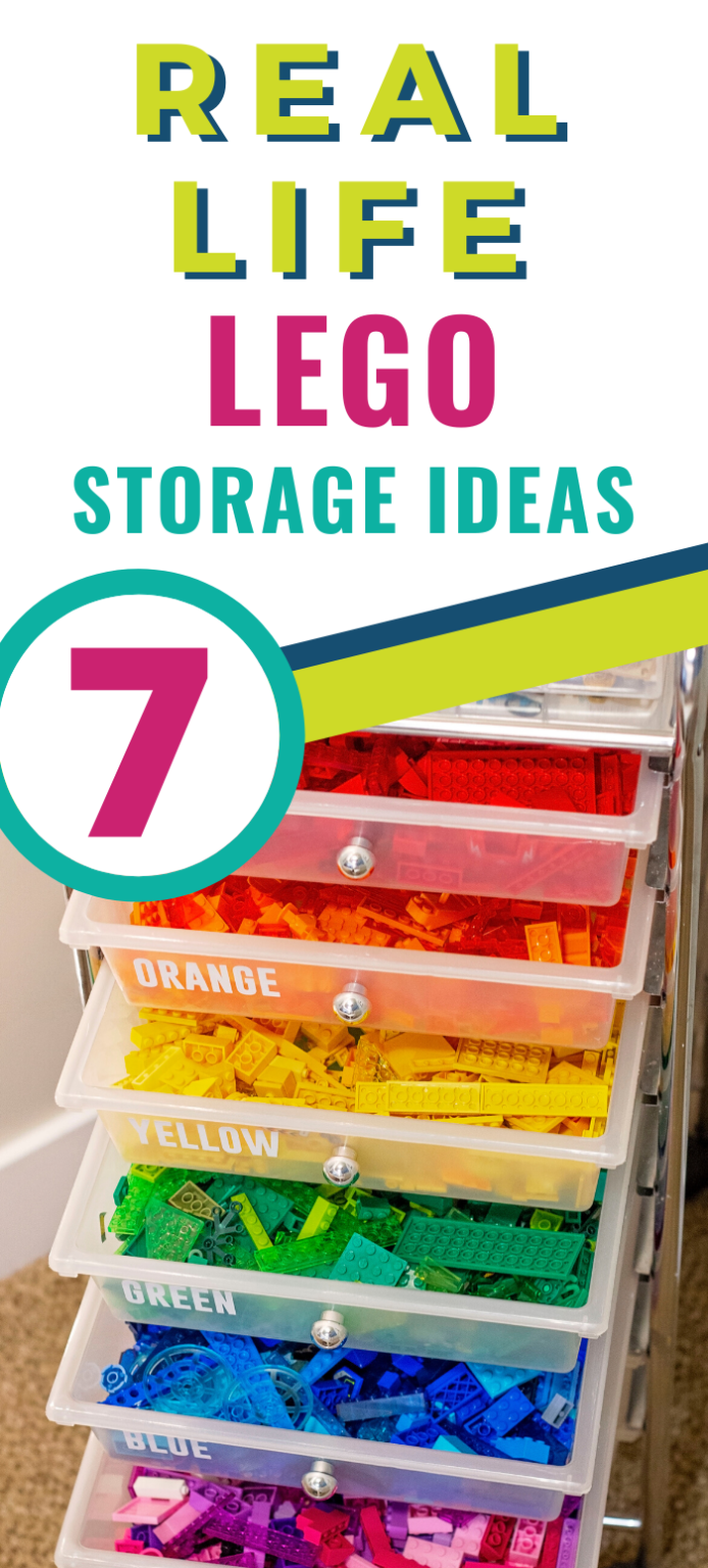 These Lego Storage And Organization Ideas Are Ones That Your Kids Are Going To Love They Are Fairly E Lego Storage Lego Storage Organization Lego Organization