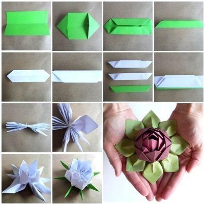 How to fold beautiful origami lotus flower lotus flower origami how to fold beautiful origami lotus flower mightylinksfo