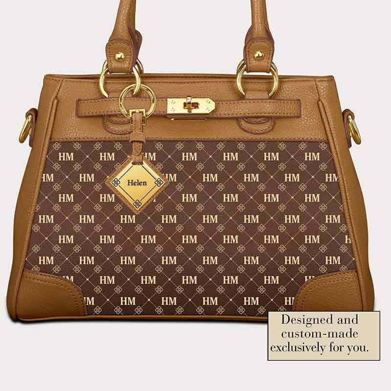 Personalized Initial Handbag  a31518726a490