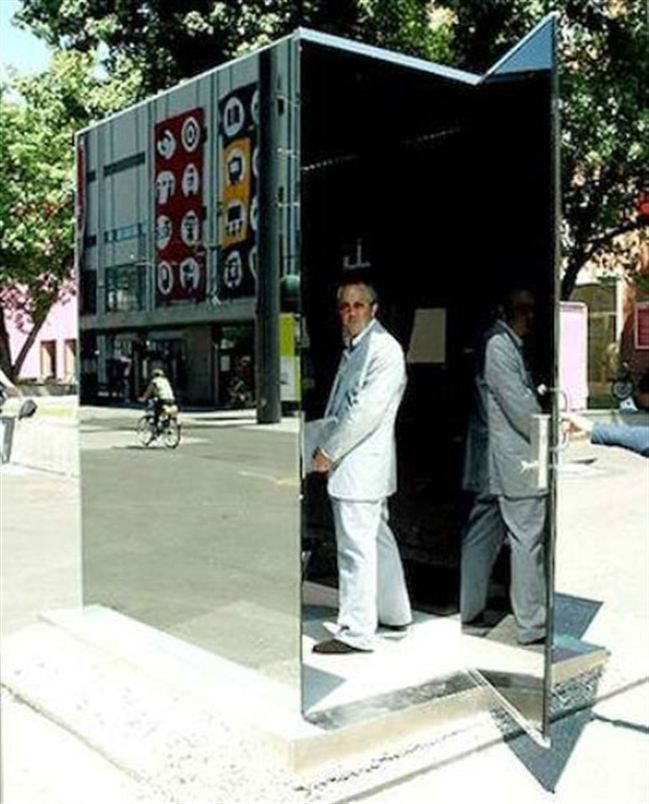 One Way Mirror Toilet But A Bit Too Public 10 Funniest