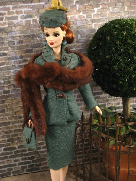 The Couture Touch: 1940's Style Barbie
