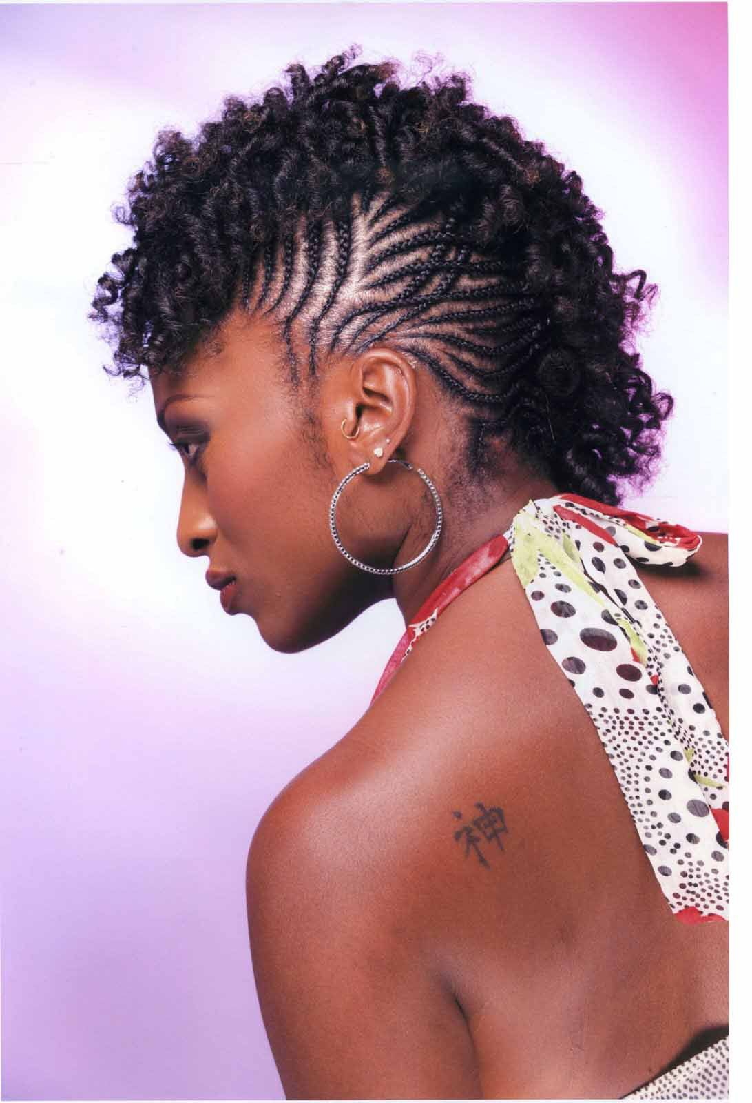 Hair braiding style strands of cultural heritage for modern use