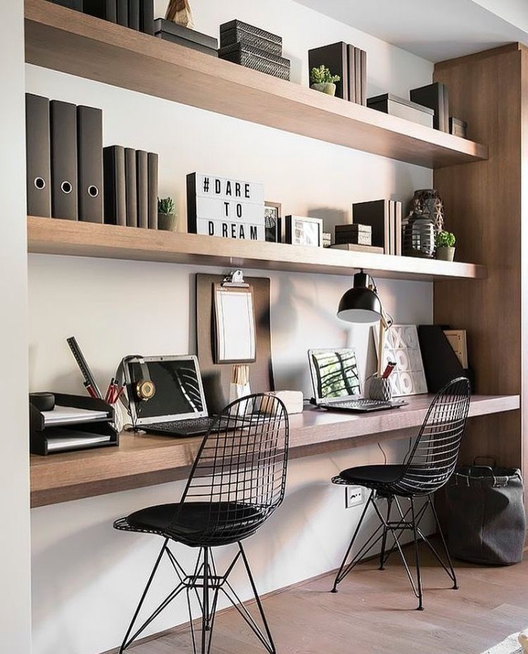 22+ Contemporary Home Office Design Ideas For A Trendy