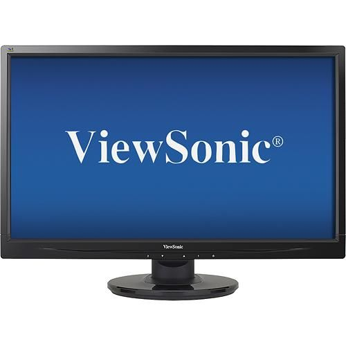 "ViewSonic - 21.5"" LED HD Monitor - Larger Front"