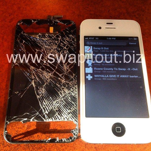 iPhone 4 Screen Repair - http://www.swapitout.biz