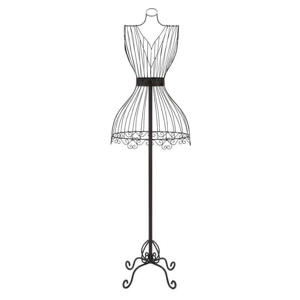 Black Metal Dress Form Mannequin. | Interesting Things | Pinterest ...