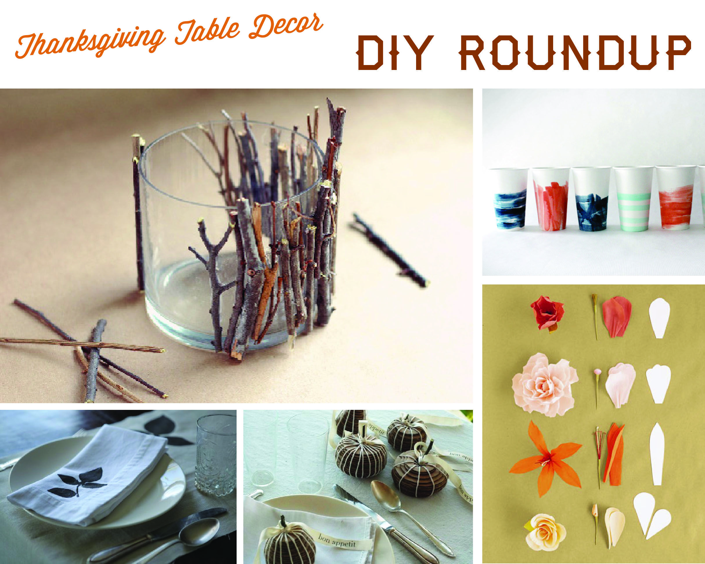 Thanksgiving DIY Roundup + Renegade Craft Fair by Margo ...