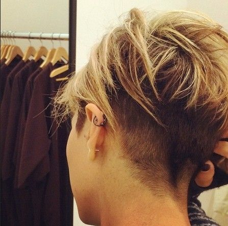 Chic Short Haircuts Back View , Short Hairstyles Undercut