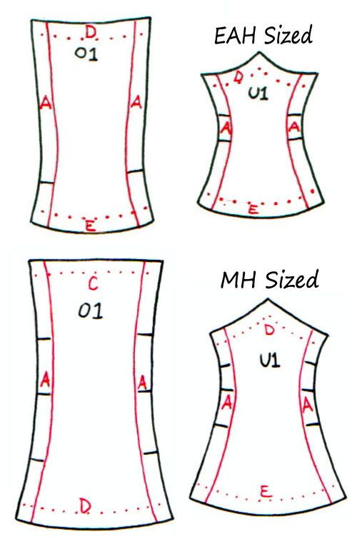 Reserve listing for Siren   Corset, Dolls and Clothes