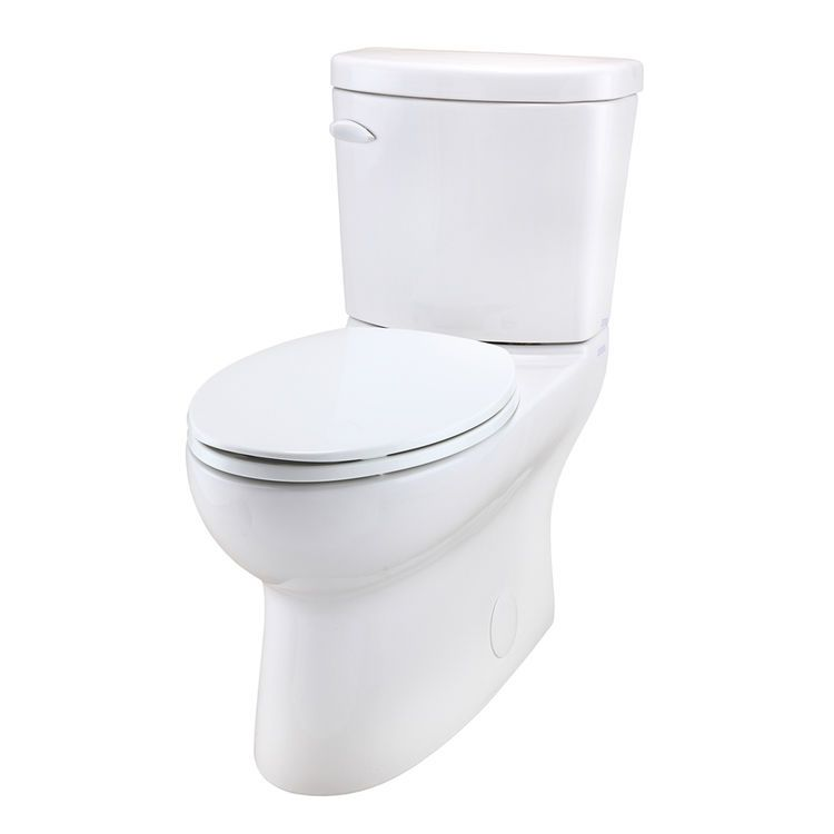 Gerber 20 832 Avalanche Ct 1 28 Gpf 12 Rough In Two Piece Elongated Ergoheight Toilet Toilet Elongated Water Sense