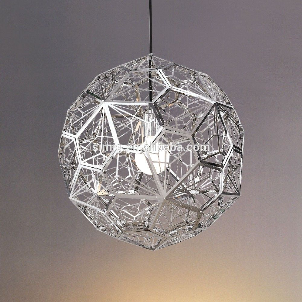 Modern Round Shape Pendant Lamp In Stainless Steel Made In China Zhongshan Simig Stainless Steel Pendant Light Pendant Lamp Ball Lamps
