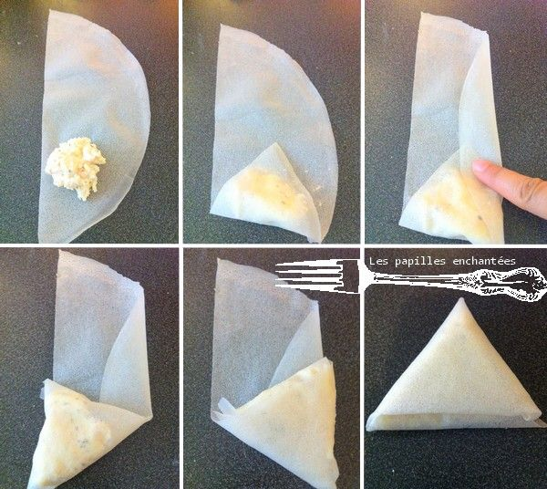 Exceptionnel pliage facile brick triangle | CUISINE | Pinterest | Pliage  KD41