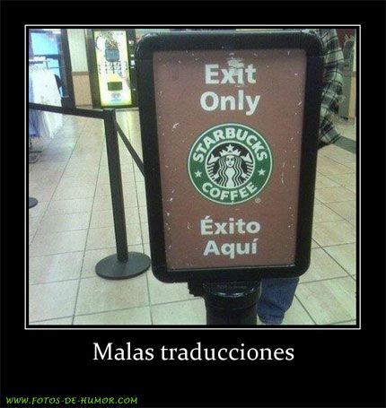Humour C B Malas Traducciones C B Translation Failenglish Translationfunny Translationsspanish
