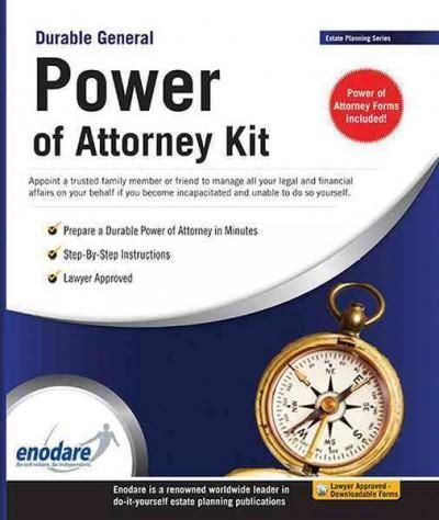 Durable General Power of Attorney Kit Lawyer Approved - general power of attorney forms