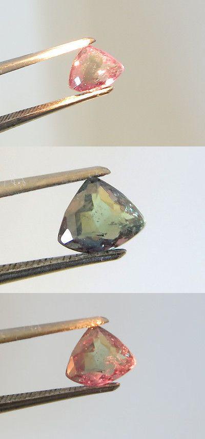 Alexandrite 10190: 0.68Carat Brazil Natural Alexandrite Chrysoberyl Triangular Color Change 100% BUY IT NOW ONLY: $900.0
