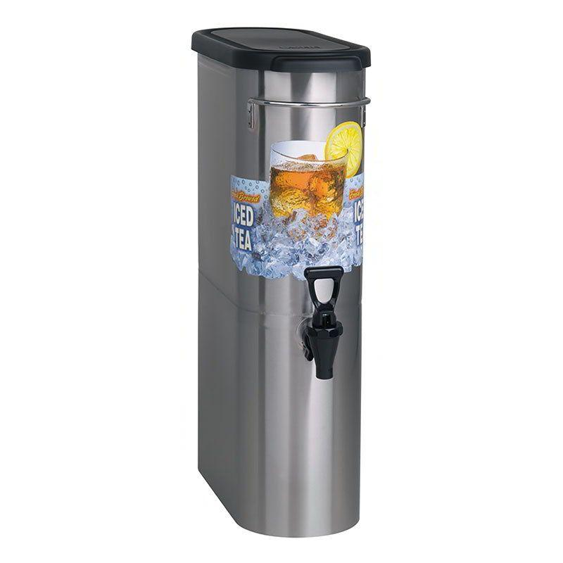 Bunn tdon35 3 12 gal narrow iced tea coffee dispenser