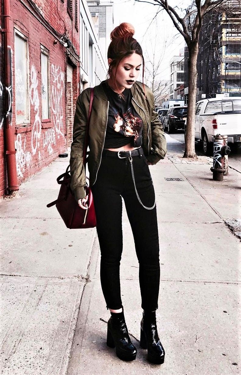 Hipster Frauen Mode 23 Cool Dark Grunge Outfit Ideas Outfits Style Grunge