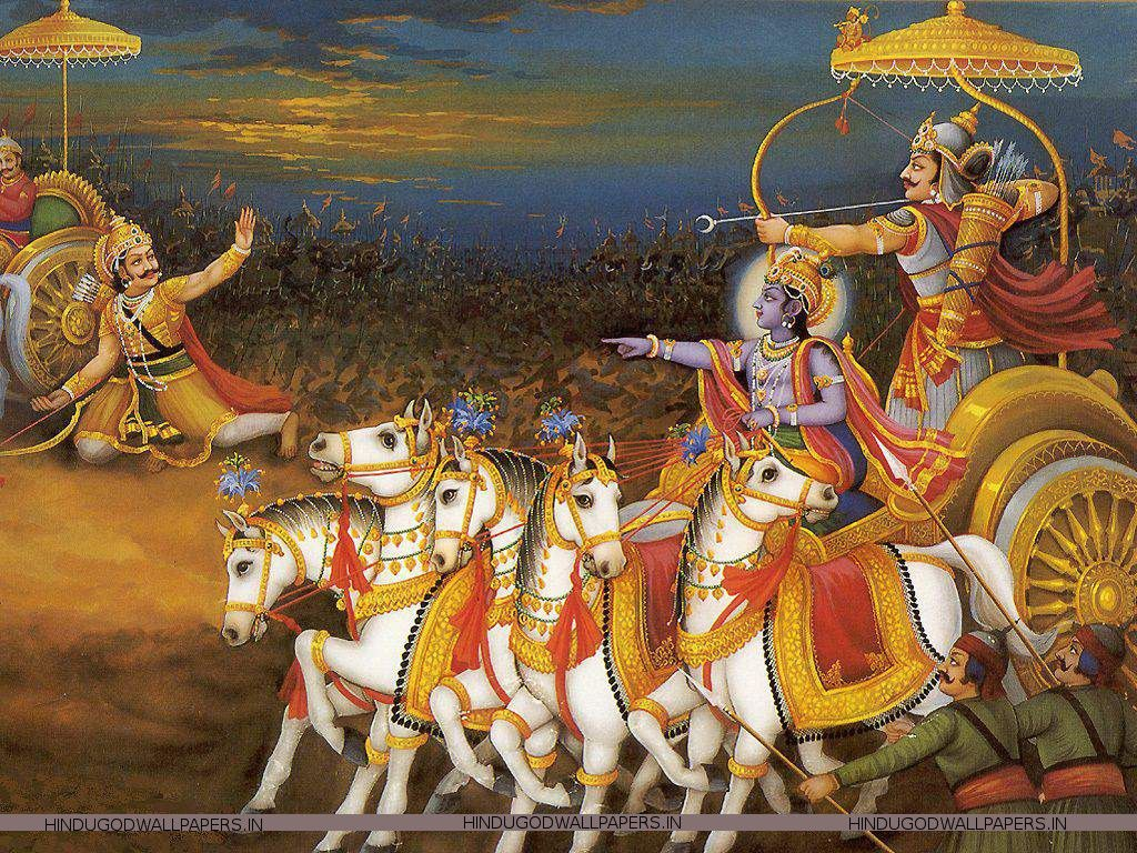 Mahabharat Wallpaper Desktop Free Download Hindu God Wallpapers The Mahabharata Krishna Bhagavad Gita