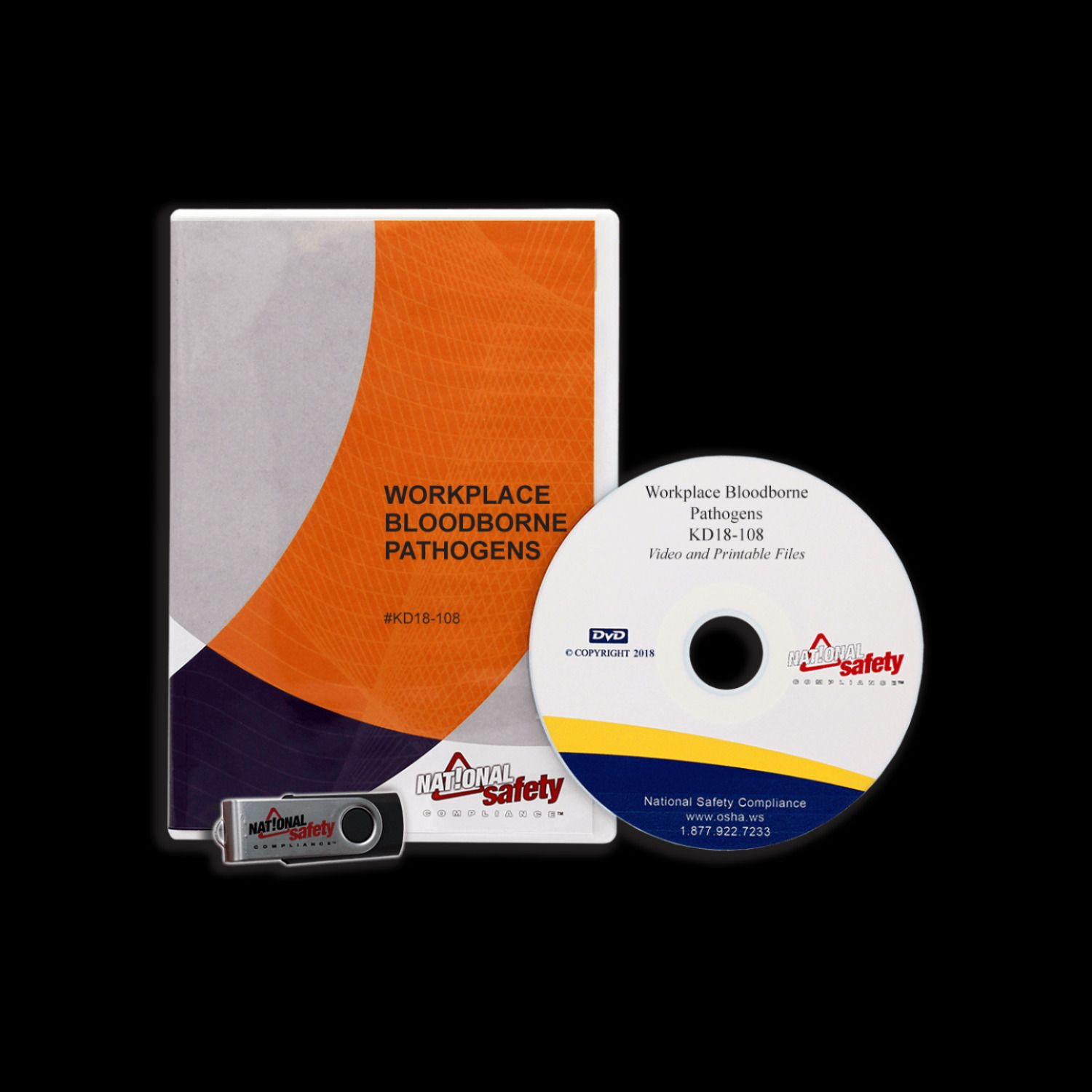 Bloodborne Pathogens General Version Training Video Kit
