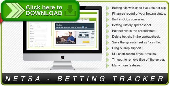 Free nulled Netsa Betting Tracker download