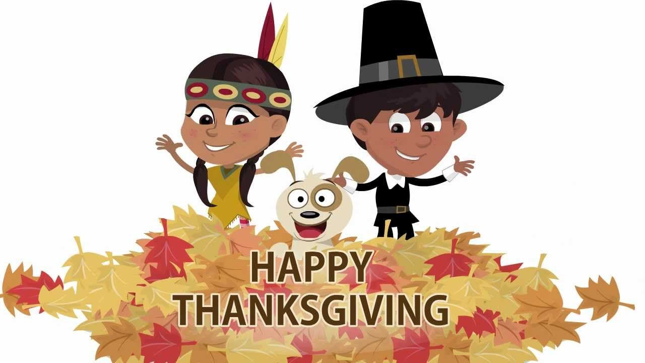 47++ Thanksgiving clipart free animated info
