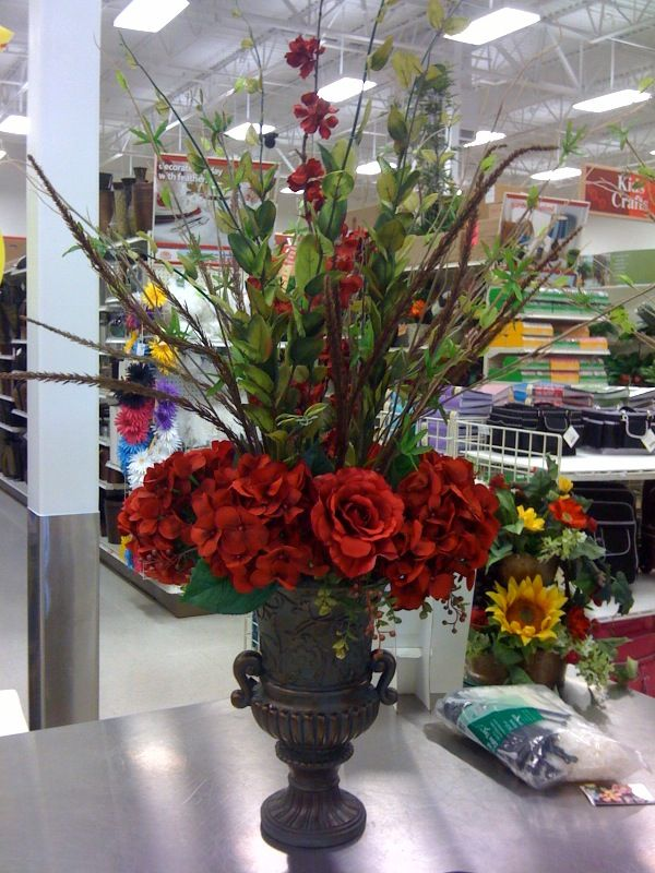 Pin de bertha ruiz en decoracion arreglos con tulipanes - Decoracion de jarrones con flores artificiales ...