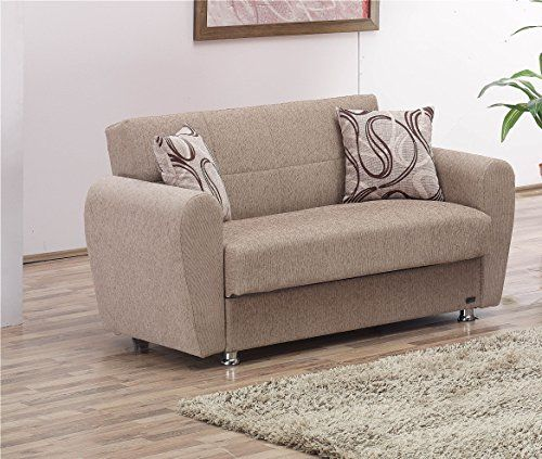 Superb Empire Furniture USA Colorado Collection Guest Room Convertible Storage  Loveseat With Storage Space Includes 2 Pillows