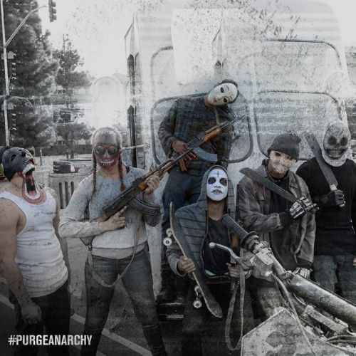 the purge anarchy dwayne the stranger - Google Search