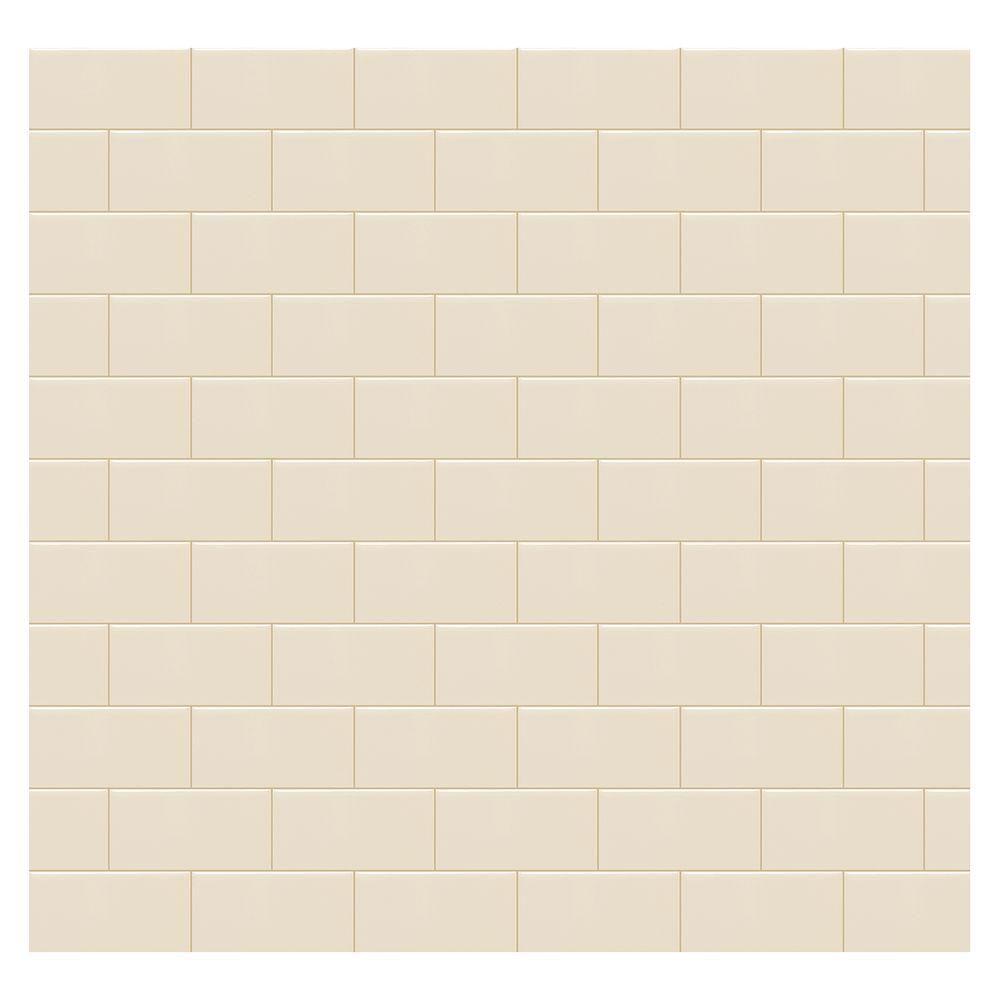 Daltile rittenhouse square almond 3 in x 6 in ceramic wall tile daltile rittenhouse square almond 3 in x 6 in ceramic wall tile 125 doublecrazyfo Image collections
