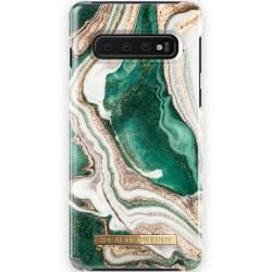 Photo of Fashion Case Galaxy S10 Golden Jade Marble iDeal of Sweden