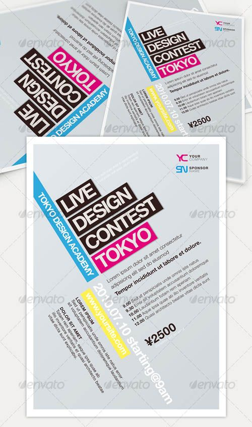 35 Best Flyers Design Templates - Bcstatic.Com | Brochure Design