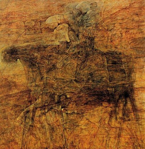 Interesting piece by Zdzisław Beksiński