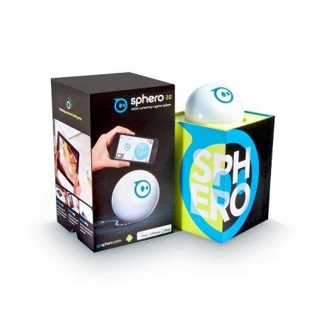Sphero Robot Ball Model  Op voorraad Staat  Nieuw De Sphero Robotball 2.0 is een bal waarmee je waanzinnige dingen kunt doen. Download een gratis App en bestuur de bal met je smartphone of tablet (compatibel met iOS en Android). Je kunt de bal laten bewegen zoals jij wilt!