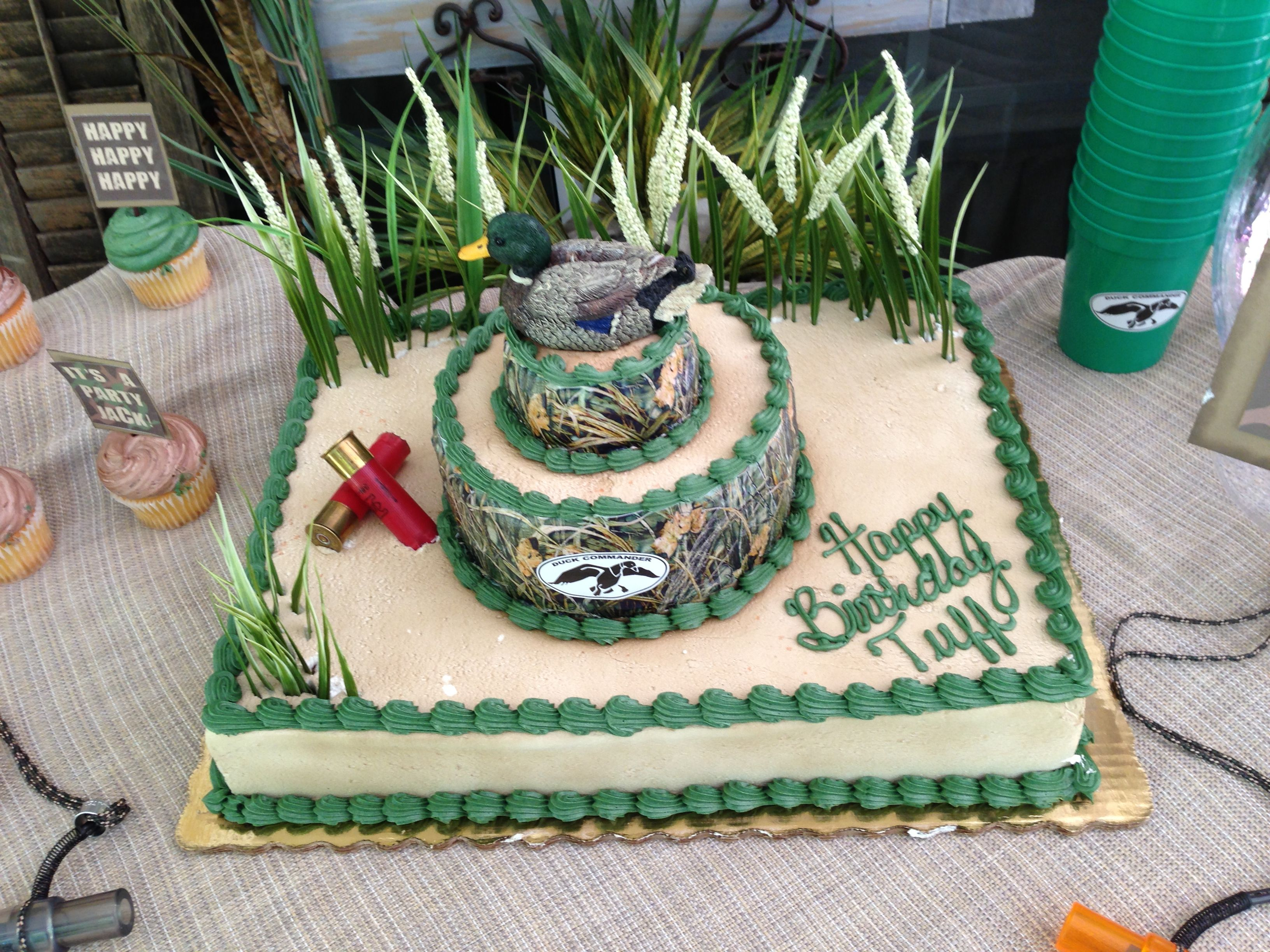 Duck Dynasty Birthday Cake With Images Duck Dynasty Cakes