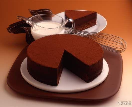 Pastel De Mousse De Chocolate Recetas Nestle Postres Recetas