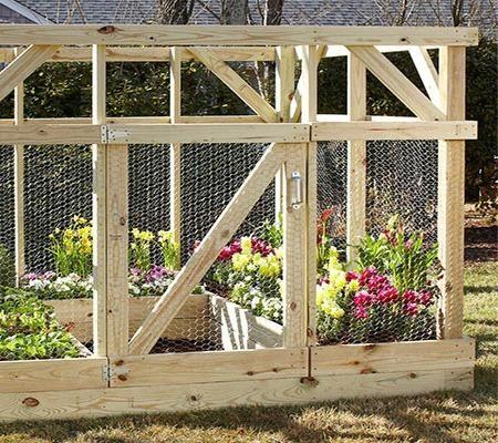 Garden Enclosure Built By Home Depot Garden Club 400 x 300
