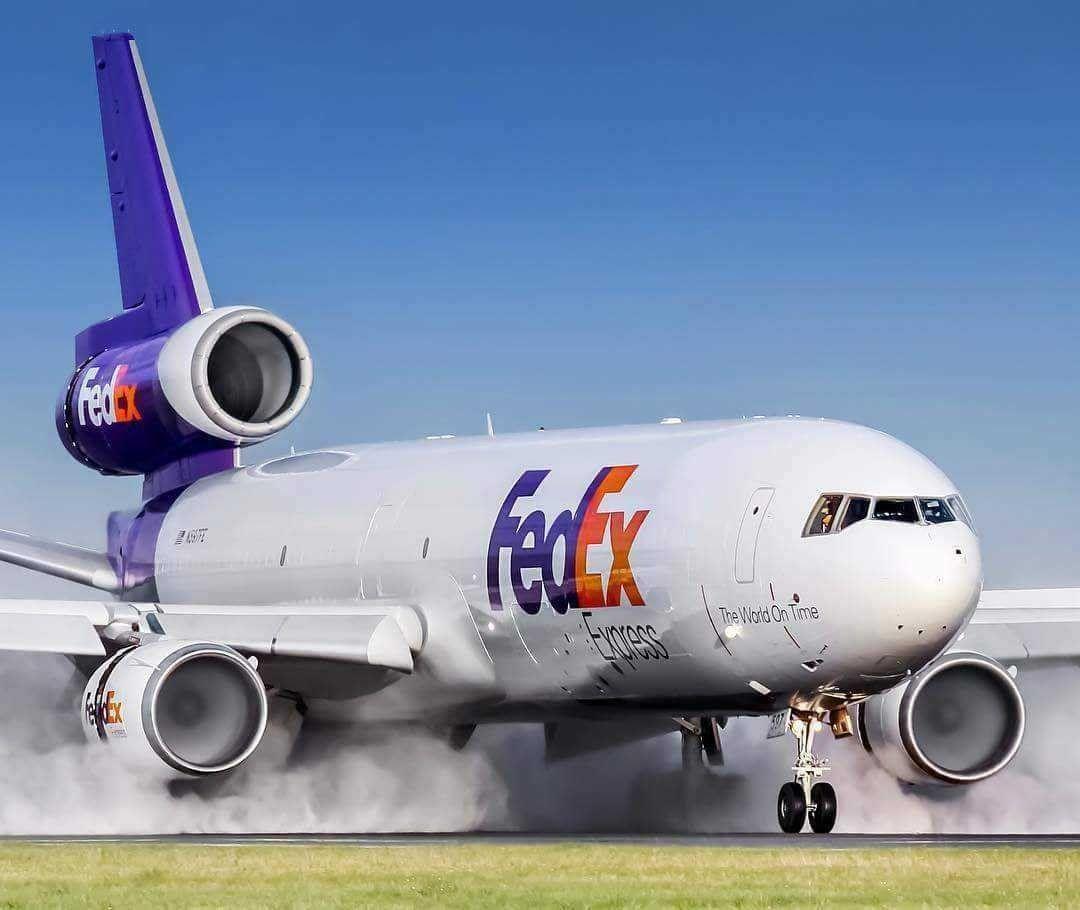 Fedex Md 11 Passenger Aircraft Cargo Aircraft Aircraft