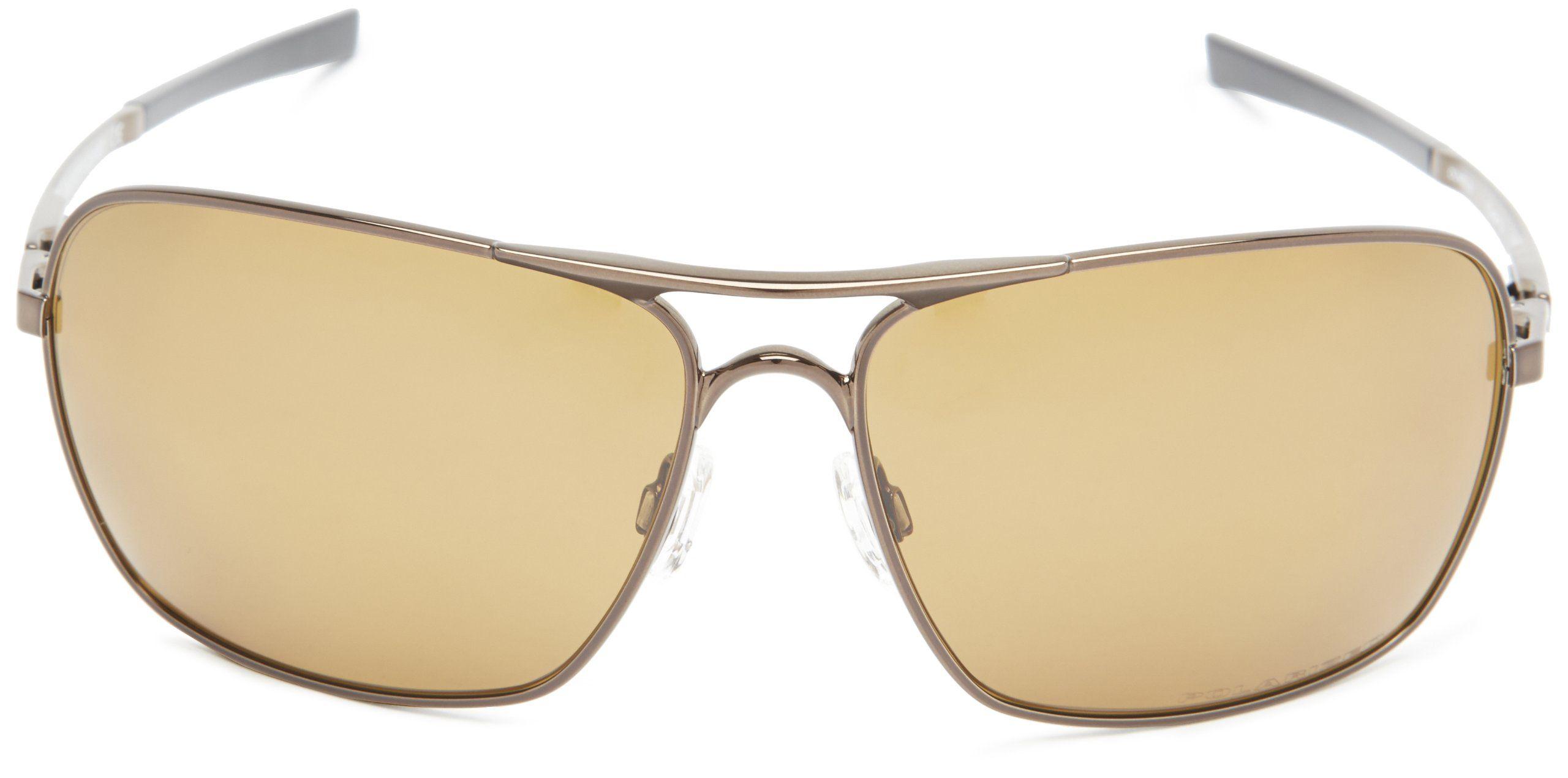 b15390ab79e1c Oakley Polarized Plaintiff Squared Sunglasses Matte Black « One More ...
