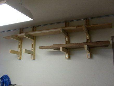 Lumber Storage Rack In 2018 Garage Pinterest Lumber Storage