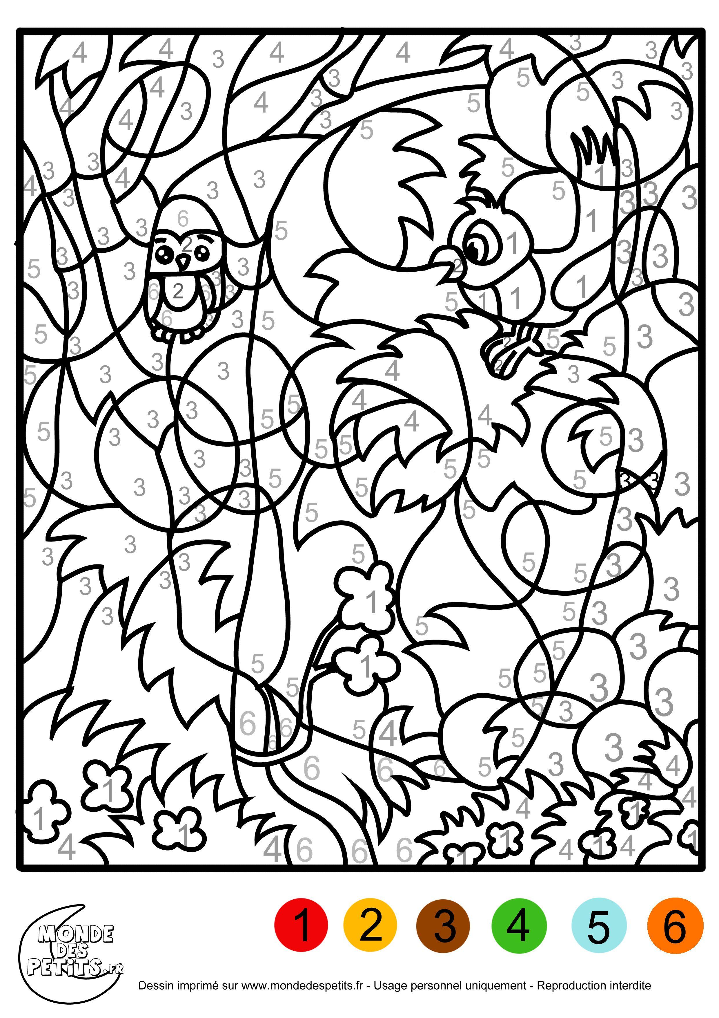 Coloriage magique poisson d avril bricolage et diy pinterest coloriage magique gs - Poisson d avril images gratuites ...