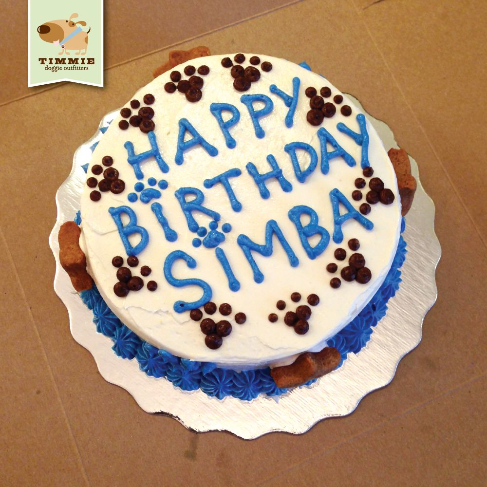 Happy Birthday Simba Special Delivery Cake From Trixies Kitchen TimmieDoggieOutfitters TimmieWholesomeFood