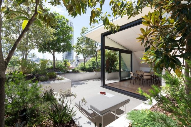 New South Wales Best Residential Architecture Penthouse Garden Rooftop Garden Apartment Garden
